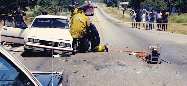 Victim's car in the 1991 Fatality Pursuit