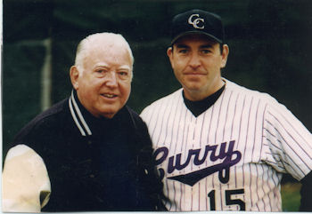 Coach Jack Vallely and his son Brian.