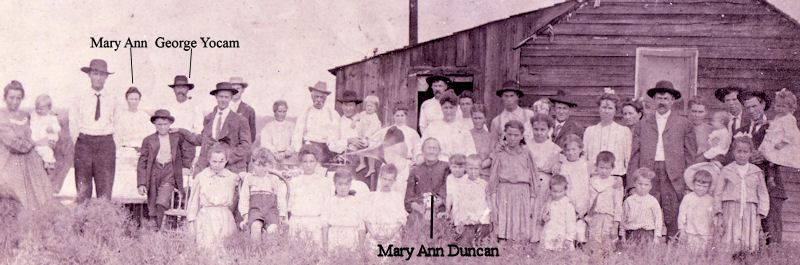1905  Mary Ann Duncan 75th birthday in Joplin, MO