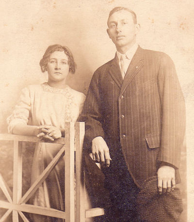 Vera and Virgil Yocam in 1914