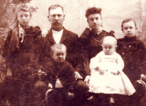 George Yocam and Family 1892