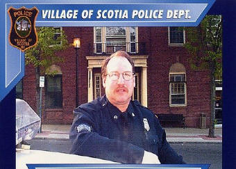 Daniel Vallely of Village of Scotia Police Department.
