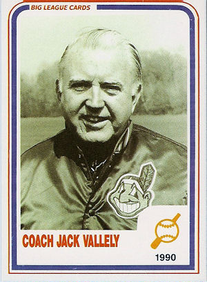 Coach Jack Vallely in 1990.